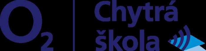Logo O2 Chytrá škola